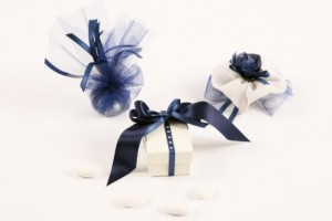 Blue Wedding Favours from www.bbbonbon.ie