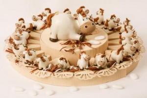 Cavallo Favour Cake