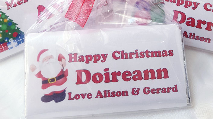 Seasonal Personalised Chocolate